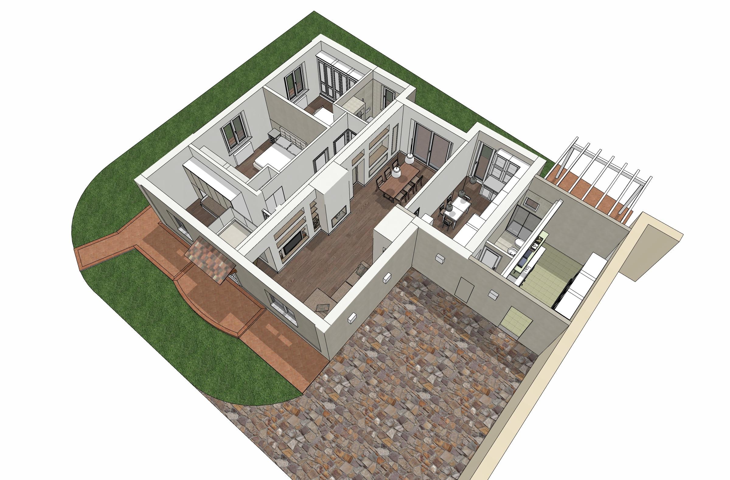 2 3D casa Laura