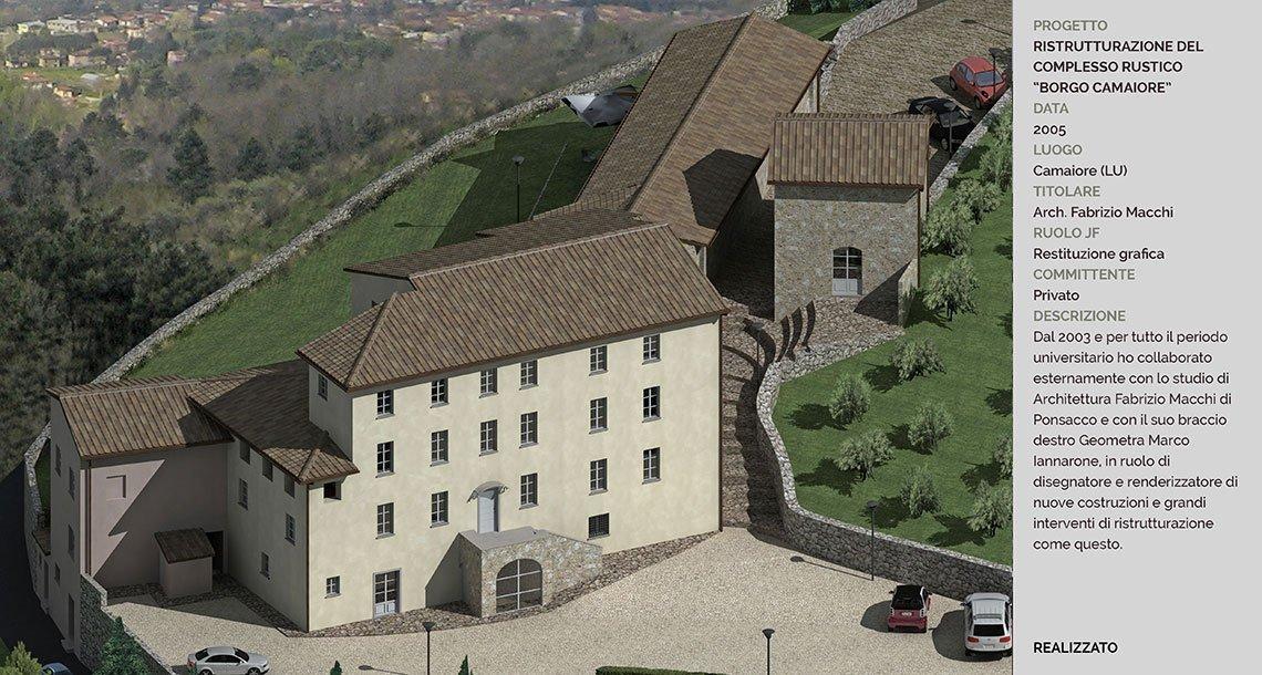 3-ristrutturazione-complesso-rustico-Borgo-Camaiore-dall-alto