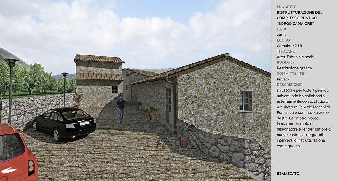 5-ristrutturazione-complesso-rustico-Borgo-Camaiore-parcheggio