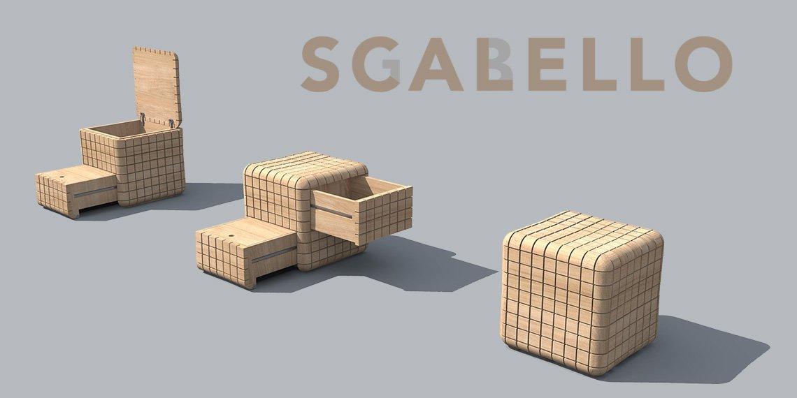 Uno sgabello per il Design Award Riva 1920 - Sgabello Cubello