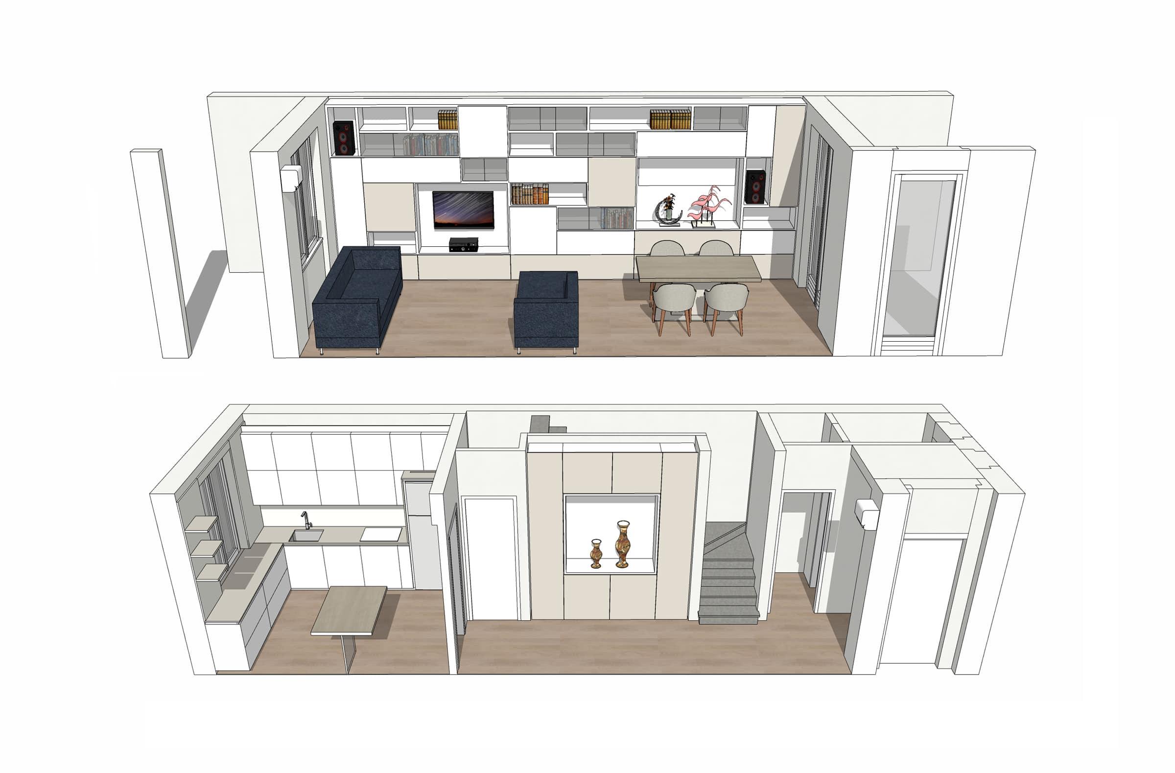 3 3D Casa Maria Luisa