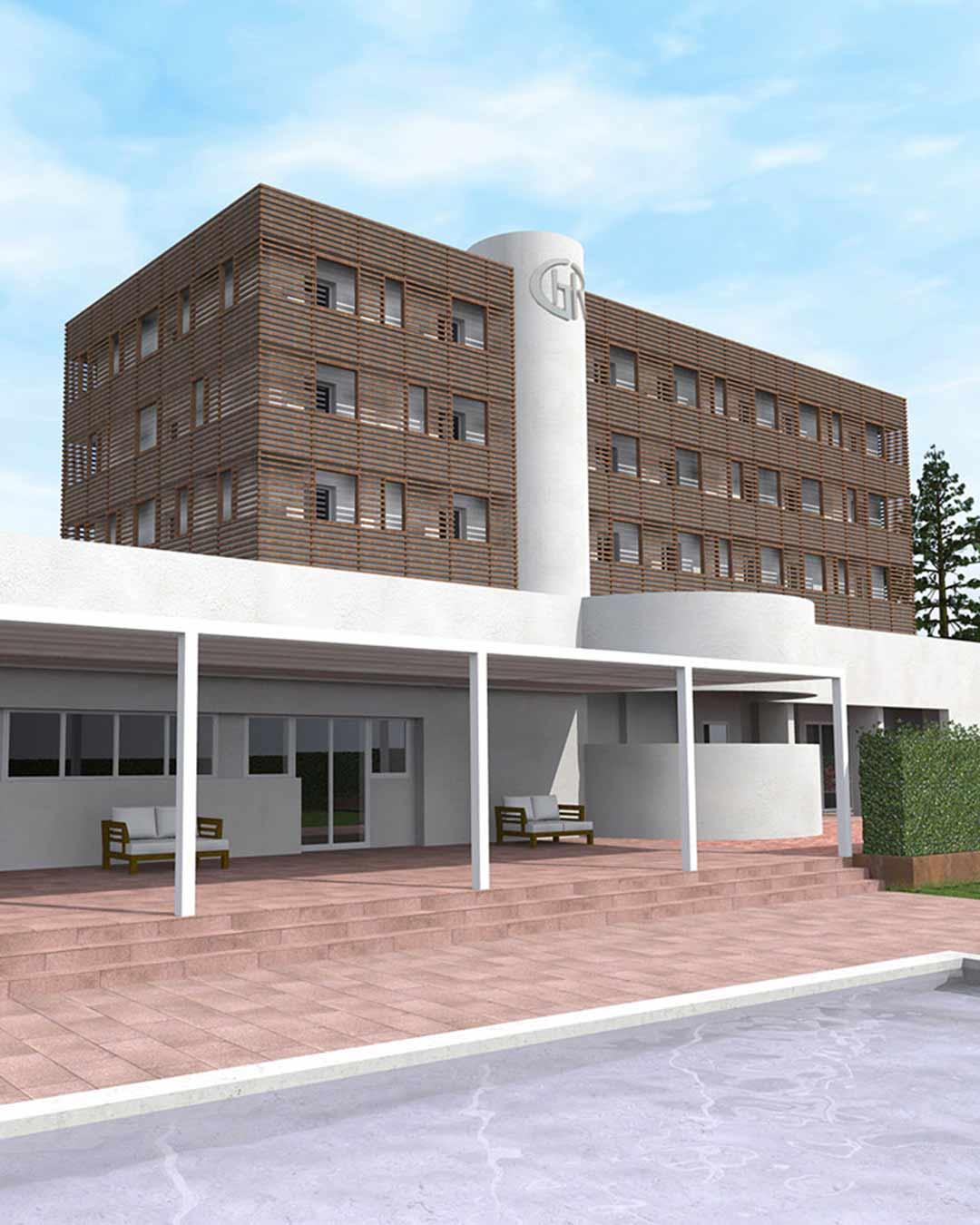 Ristrutturazione Hotel Garden