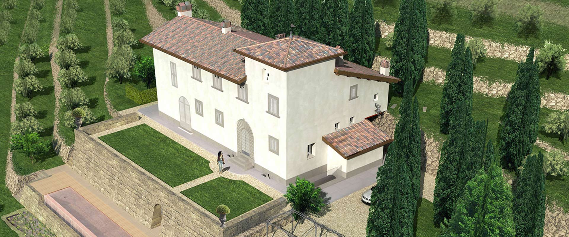 Ristrutturazione Villa Toscana